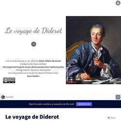 Le voyage de Diderot by wroneckihg on Genially