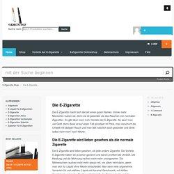 Die Elektrische Zigarette, Zigarette Elektrisch kaufen, Online Elektrische Zigarette kaufen,