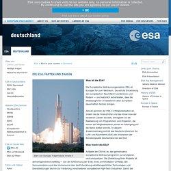 Die ESA: Fakten und Zahlen / Germany
