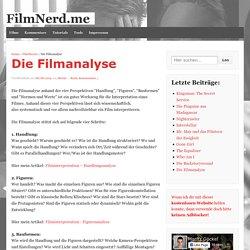 Die Filmanalyse