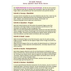 Die Fünf-Schritt-Lesemethode