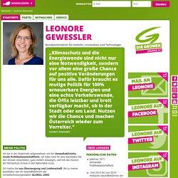 Die Grünen - Leonore Gewessler