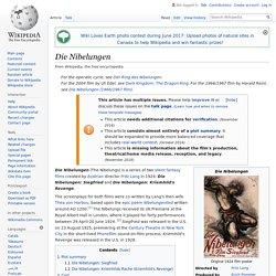 Die Nibelungen - Wikipedia