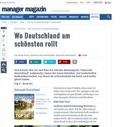 Die Top 18 Radwanderwege in Deutschland