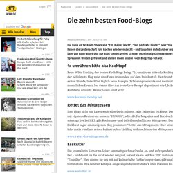 Die zehn besten Food-Blogs