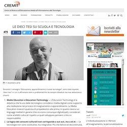 Le dieci tesi su scuola e tecnologia » Cremit
