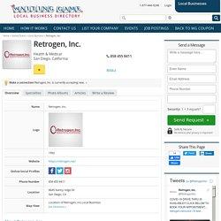 San Diego Local Business - Retrogen, Inc.
