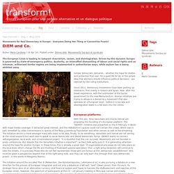 DiEM and Co.-Transform Network