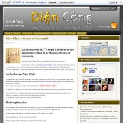 Dien Chan : Stress et Insomnie - DienCong