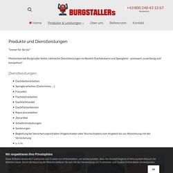 Produkte und Dienstleistungen - Dachdecker