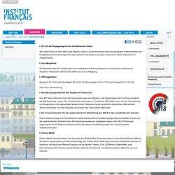 Deutsch-französisches Kulturinstitut Saarbrücken | über uns > dienstleistungen