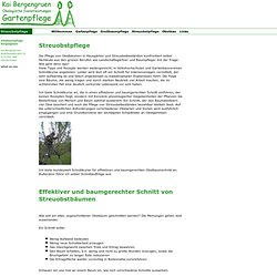 Streuobstpflege - Bergengruen - Ökologische Dienstleistungen