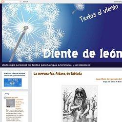 textos al viento.: La serrana fea, Aldara, de Tablada