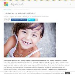 Los dientes de leche en la infancia: Todo lo que debes saber