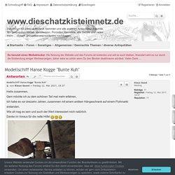 "Modellschiff Hanse Kogge ""Bunte Kuh"" - www.dieschatzkisteimnetz.de"