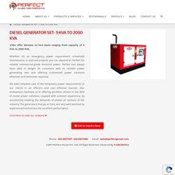 Diesel Generator Manufacturers in India