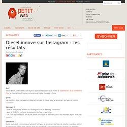 Diesel innove sur Instagram : les résultats