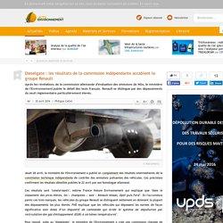 Dieselgate: les résultats de la commission indépendante accablent le groupe Renault