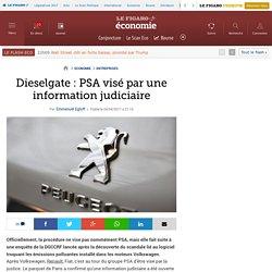 Dieselgate: PSA visé par une information judiciaire