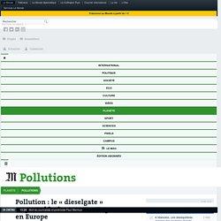 Pollution: le «dieselgate» responsable de5000morts par an en Europe