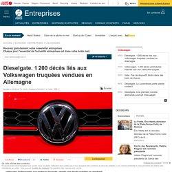 Dieselgate. 1200 décès liés aux Volkswagen truquées vendues en Allemagne