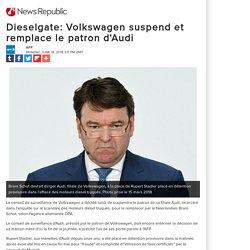 Dieselgate: Volkswagen suspend et remplace le patron d'Audi
