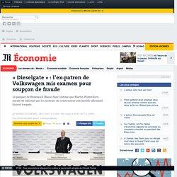 «Dieselgate» : l'ex-patron de Volkswagen mis examen pour soupçon de fraude