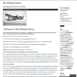 Dieselpunk: for the war effort! « The Flying Fortress
