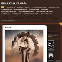 Dieselpunk Encyclopedia