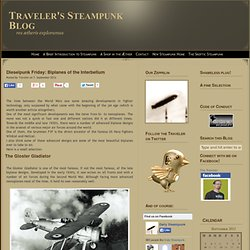 Dieselpunk Friday: Biplanes of the Interbellum | The Traveler's Steampunk Blog