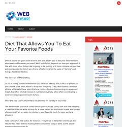 Diet That Allows You To Eat Your Favorite Foods - Golo LLC