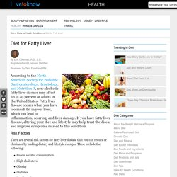 Diet for Fatty Liver
