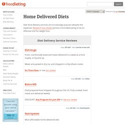Diet Food Delivery Services