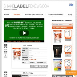 Shake Label Review