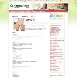 La Dieta 911 - Sé natural, Naturalinea.com