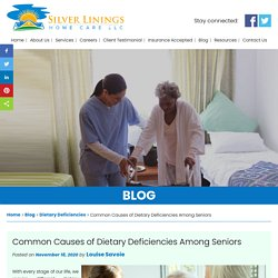 Common Causes of Dietary Deficiencies Among Seniors