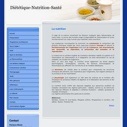 Diététique Nutrition Santé - En savoir plus Nutrition