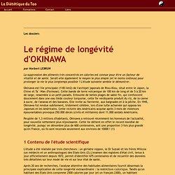 Le regime d Okinawa