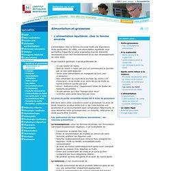 Conseils diététiques pour une alimentation équilibrée de la femme enceinte› Institut Mutualiste Montsouris