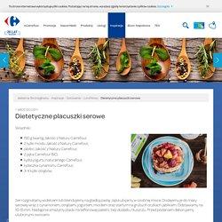 Dietetyczne placuszki serowe
