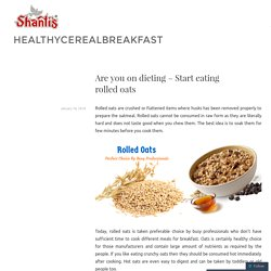Highly energetic and nutritional rolled oats exporter in India