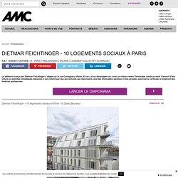 Dietmar Feichtinger - 10 logements sociaux à Paris - 14/02/17