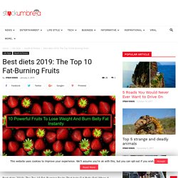 Best diets 2019: The Top 10 Fat-Burning Fruits That help Cut Belly Fat