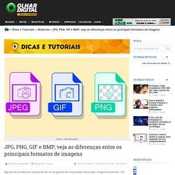 JPG, PNG, GIF e BMP; veja as diferenças entre os principais formatos de imagens