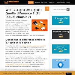 WiFi 2.4 gHz et 5 gHz : Quelle diférence ? (Et lequel choisir ?) - Routeur-Wifi