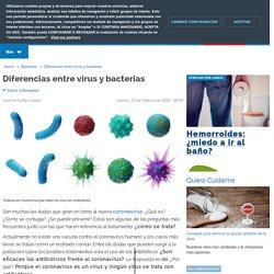 Diferencias entre virus y bacterias