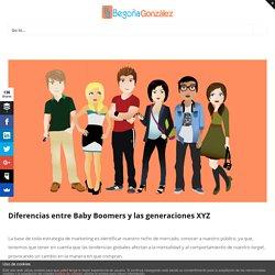 Diferencias entre generaciones: Baby Boomers y las generaciones x, y, z