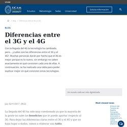Diferencias entre el 3G y el 4G