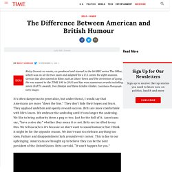 The Difference Between American and British Humour