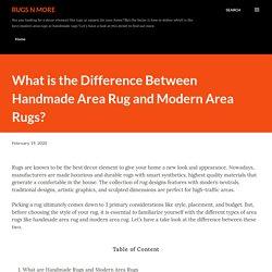 Affordable Handmade Area Rug Online in Australia